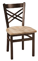 Metal & Wood Chair 515W