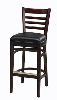 Regal Bar Stool 415uph Anitoch Upholstered Ladder Back